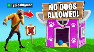 Playing as a DOG in a CATS ONLY Tournament! (Fortnite)