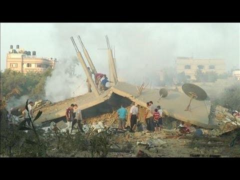 Israel Hits Alleged Hamas Militants in Gaza Strike