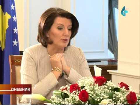Atifeta Jahjaga za RTV: Priština želi da se svi vrate u svoje domove