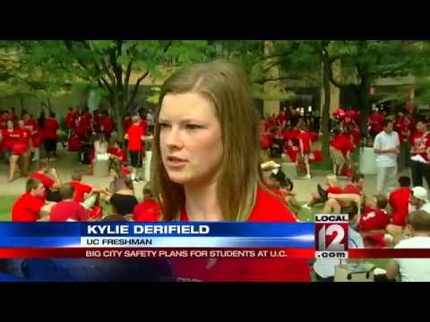 Big city safety plans for students at the University of Cincinnati