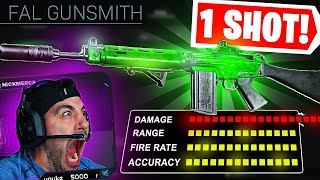 The 1 SHOT FAL 😮 TRY THIS CLASS! (Modern Warfare Warzone)