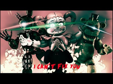 SFM| Revenge of the CHILDREN | The livingtombstone/Crusher-P - I can't Fix you