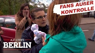 Gefährlicher Groupiewahn: Wer ist der größere Schlagerfan? | Auf Streife - Berlin | SAT.1 TV