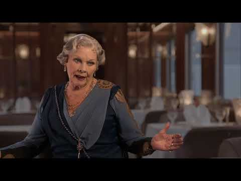 Murder on the Orient Express: Judi Dench Behind the Scenes Movie Interview