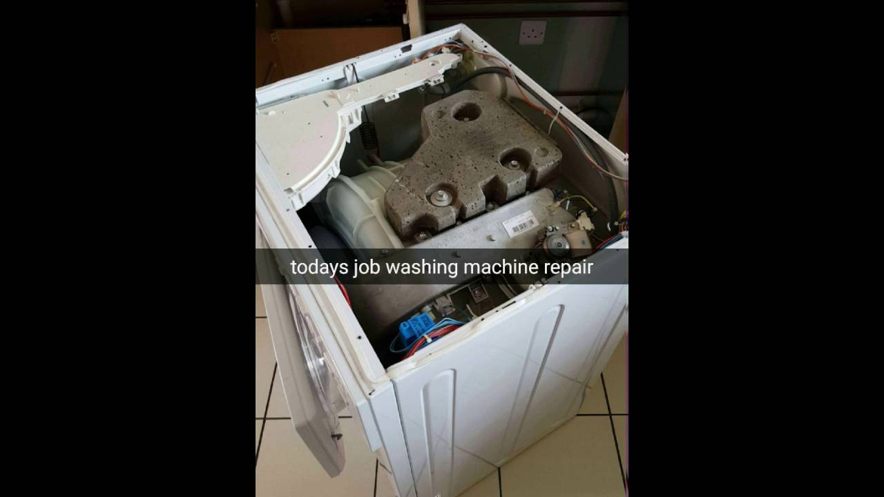 Hotpoint Washing Machine Spares repair noisy hotpoint washing machine - youtube