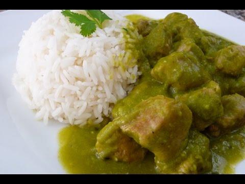 Mexican Green Asado, Pork Loin in Poblano-jalapeño Sauce, family recipe, how to,