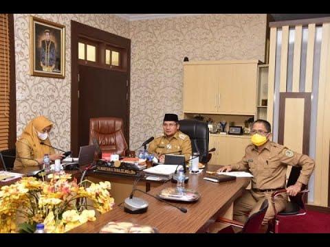 Walikota Gorontalo Membuka Rapat Kegiatan Koordinasi dan Supervisi Pencegahan (KORSUPGAH)
