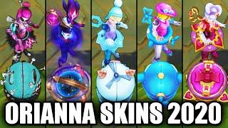 All Orianna Skins Spotlight 2020 (League of Legends)