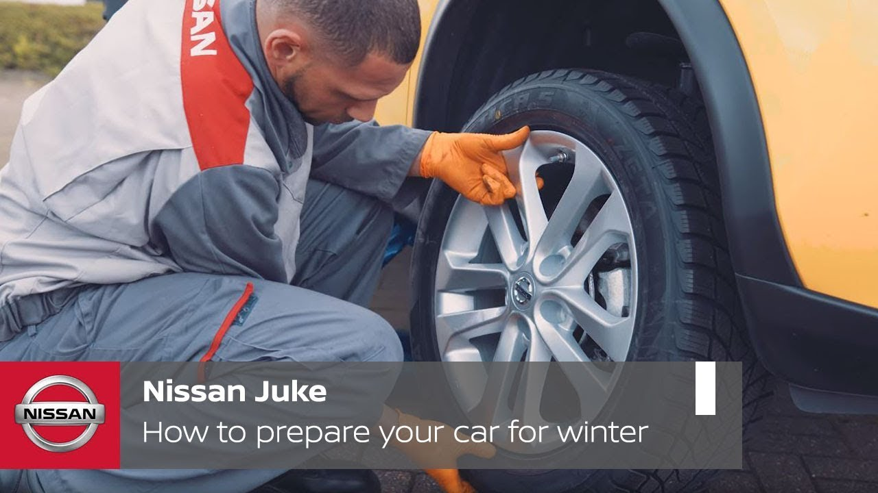 Nissan Juke Tutorial How To Prepare Your Car For Winter
