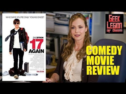 17 AGAIN ( 2009 Zac Efron ) Body Swap Comedy Movie Review ...
