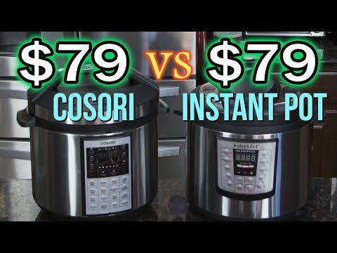 $79 Pressure Cooker Review - Cosori vs Instant Pot