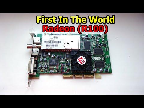 Первый в мире Radeon (R100) - Обзор и тестирование