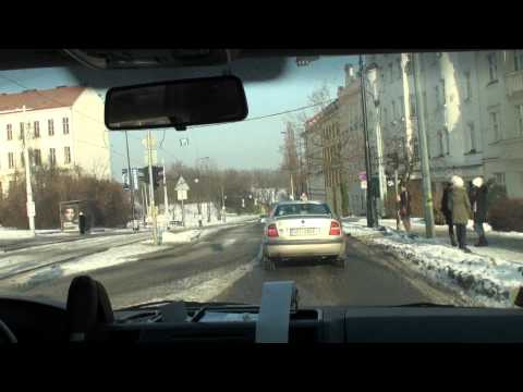2010 Euro Travel #06 - Czech Republic #01 - taxi drive