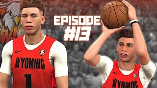Wyoming WILD #13 | LaMELO BALL DEBUT! Season 2 IS HERE! | NBA 2K20 Expansion MyLeague