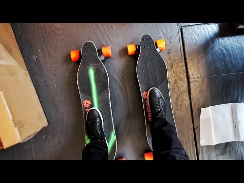 Thumbnail: TWO High-Powered Electric Skateboards