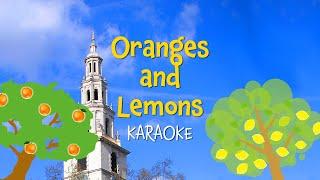 Oranges and Lemons | Free Nursery Rhyme Karaoke with Lyrics