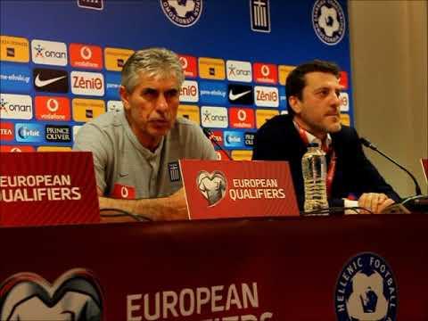 a-sports.gr: Άγγελος Αναστασιάδης τι είπε για το Ελλάδα - Ιταλία 0-3 (8/6/2019)