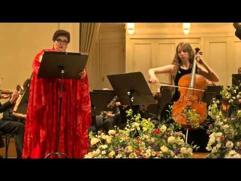 Дали Гуцериева (виолончель), Марина Шагуч (сопрано). г. Таллин. Allemanda