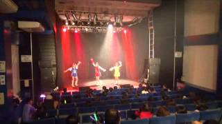 キラポジョ初の全国ツアーの5日目、松山公演の模様でこの日は地元アイド...