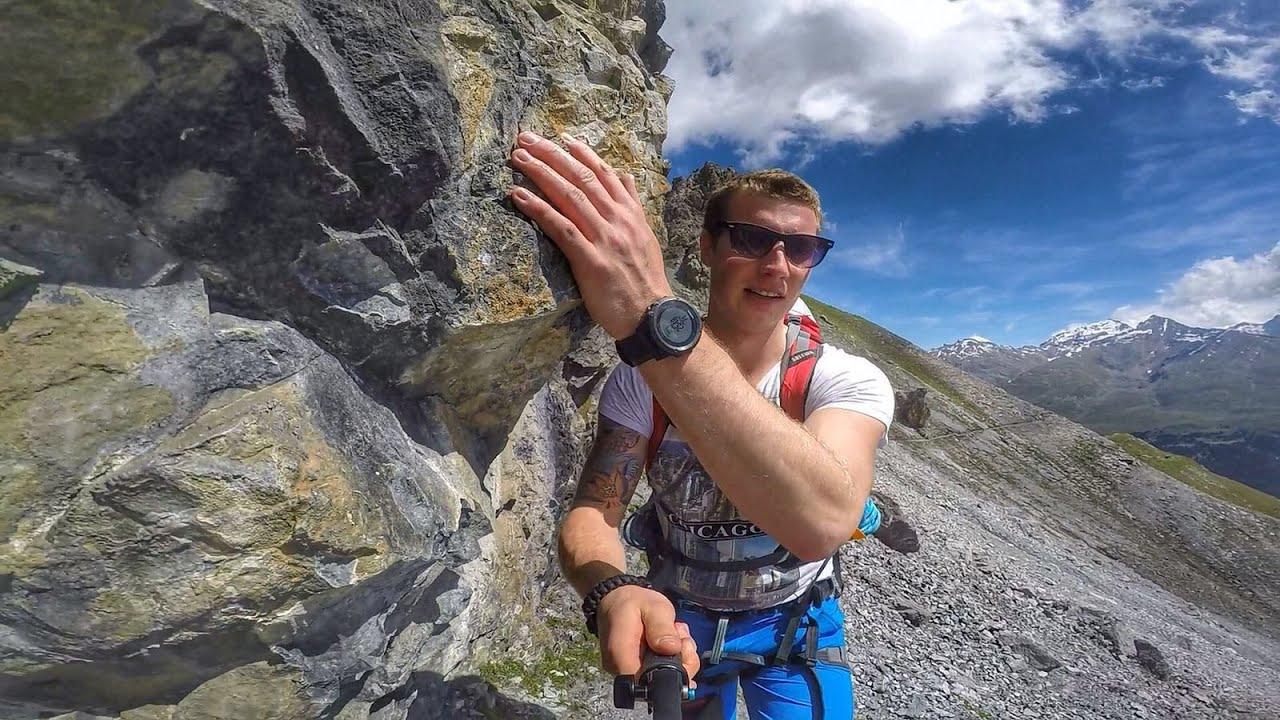 Klettersteig Tabaretta : Tabaretta spitze am ortler klettersteig
