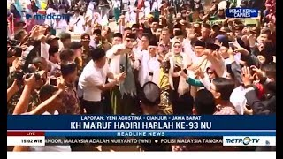 Padatnya Jadwal  Ma'ruf Amin di Cianjur
