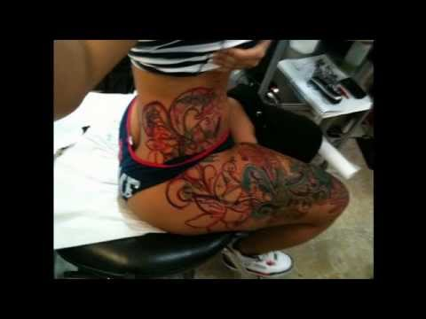 Atlanta Tattoo Artists - making Tatts and getting Inked - YouTube