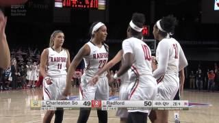 WBB Defeats #5 Charleston Southern to Earn Spot in BS Finals