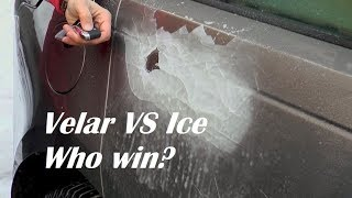 RANGE ROVER VELAR FROZEN DOOR HANDLES || Ice Test