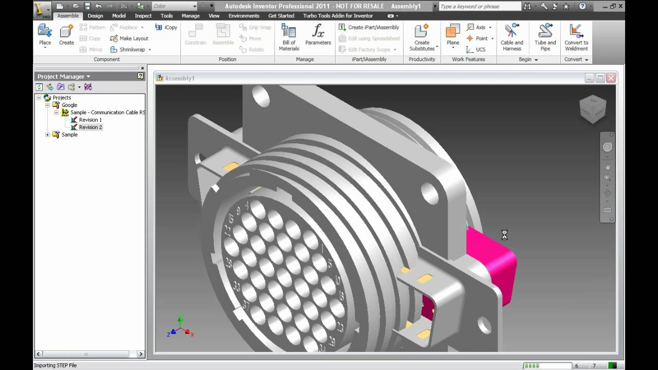 cablequity™ functionality and integration with inventor 2011 youtube