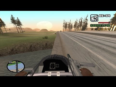 Starter Save - Part 41 - GTA San Andreas - First-Person Mod - Complete Walkthrough -achieving 13.37%