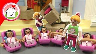 Playmobil Film Familie Hauser - Lisas Umzug in das neue Haus - Video für Kinder