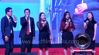 Video Symota Noet performing 'He Never Fails Me': Northeast Choral Competition 2017 download MP3, 3GP, MP4, WEBM, AVI, FLV Agustus 2018