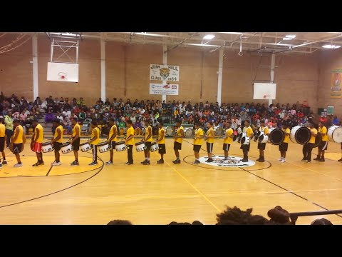 Jim Hill High School Percussion Section
