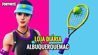 "FORTNITE-TODAY'S SHOP 25/01 (FORTNITE SHOP TODAY) NEW SKIN VOLEADORA ""TENNIS PLAYER"