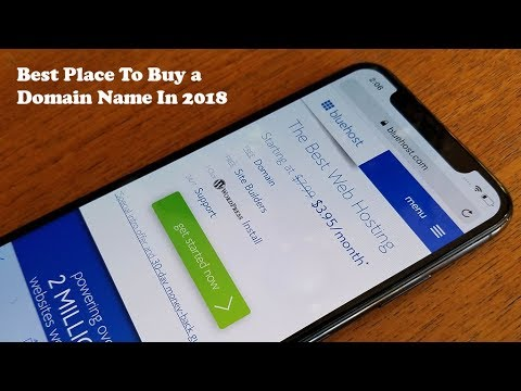 Best Place To Buy a Domain Name In 2018 - Fliptroniks.com - YouTube