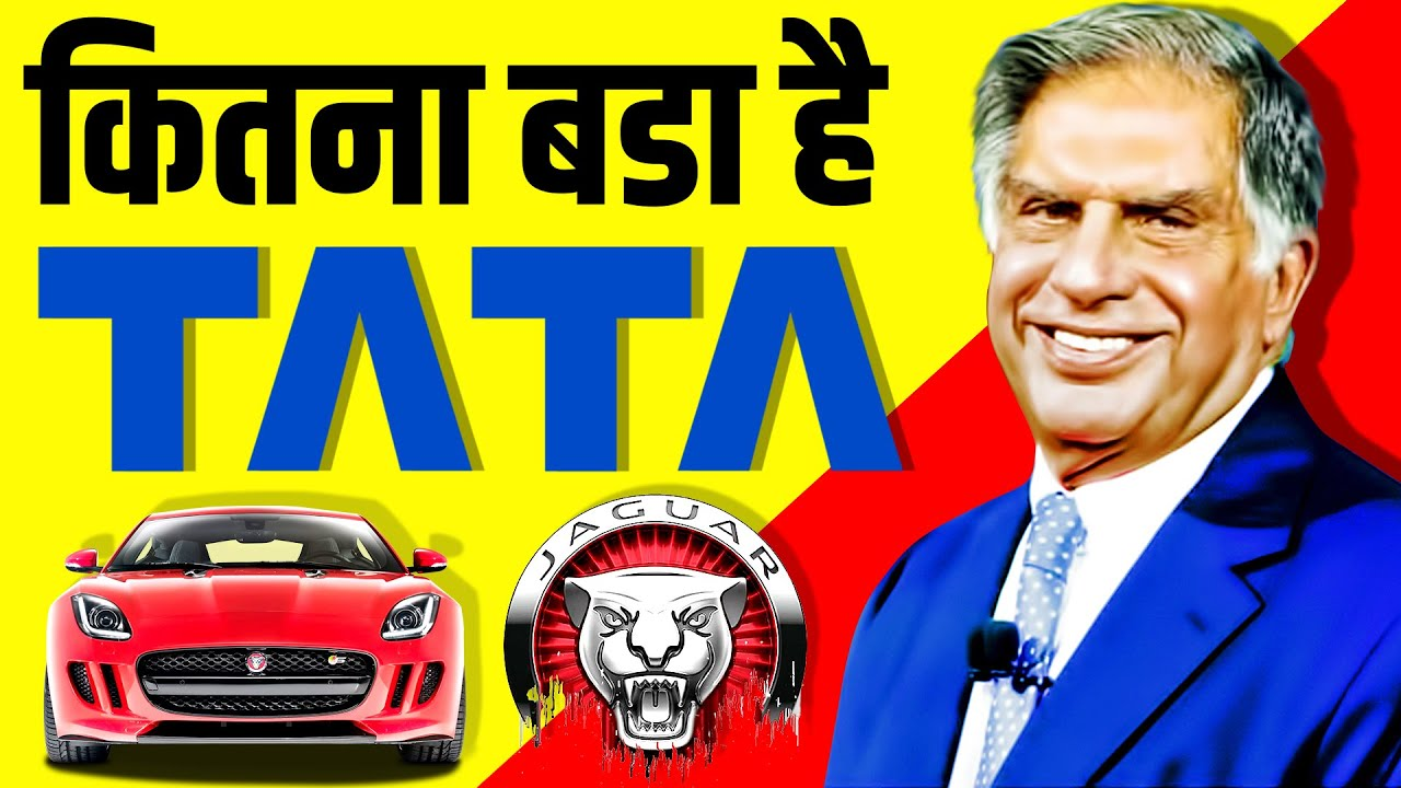 How BIG is TATA 🔥 Business Empire | Jaguar | Land Rover | Ratan Tata | Jamsetji Tata | History