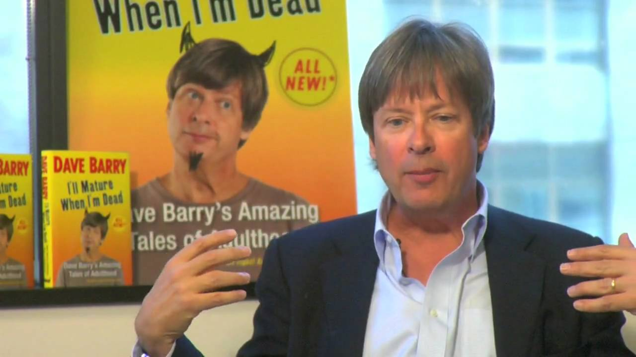 dave berry essay Dave barry's latest collection of humorous essays, you can date boys when you're forty, released this week, takes its title from a.