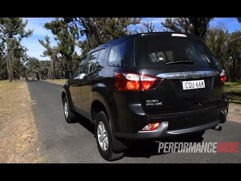 2014 Isuzu Mu X 0 100km H Amp Engine Sound Youtube