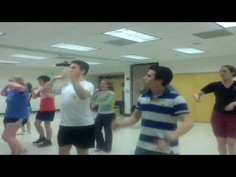 grease we go together choreography youtube