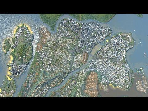 Cities Skylines - Fluxburgh [Map Download]