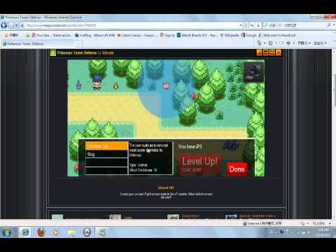 Pokemon Tower Defence Part 4-Tons Of Shiny Codes