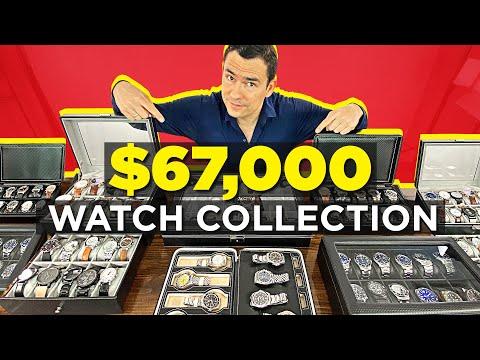 My $67,173.02 Watch Addiction (50+ Watches)