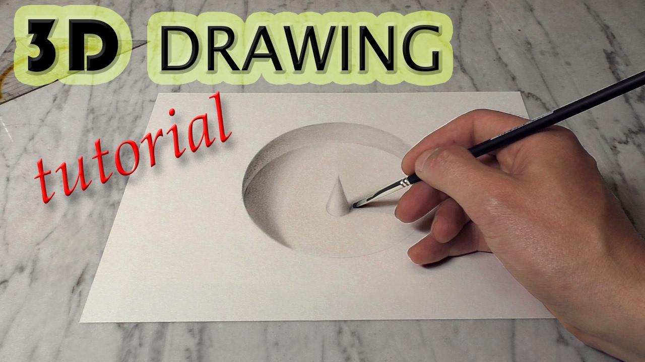 Famous Tutorial / Loch Zeichnen In 3D   YouTube EO43