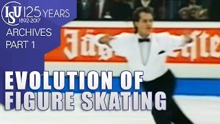 Evolution of Figure Skating : From School Figures to wild styles