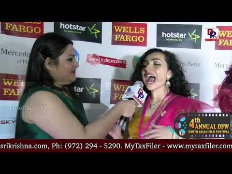 Zooyi Arora speaks to DesiplazaTV at DFW South Asian Film Festival 2018 Red Carpet opening || Dallas