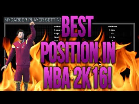 BEST/CHEESIEST POSITION BUILD IN NBA 2K16 JJ2K