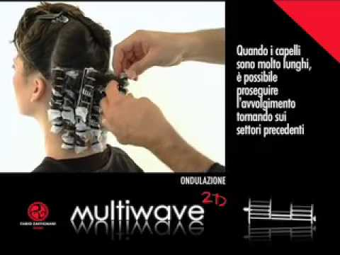 Montaggio permanente capelli lunghi