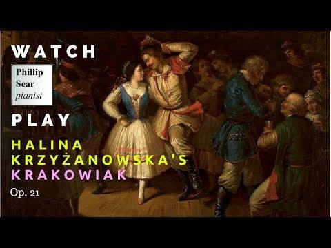Halina Krzyżanowska: Krakowiak, Op. 21