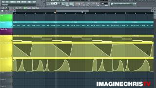 EXAMPLE OF AUTOMATION IN FL STUDIO WITH MASSIVE VSTi