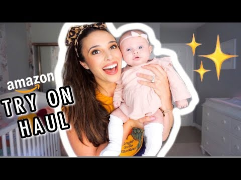 HUGE AMAZON BABY CLOTHES TRY ON HAUL (0-3 MONTHS!!) from YouTube · Duration:  23 minutes 46 seconds